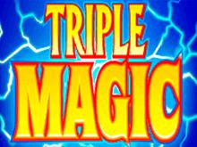 На сайте казино слот Тройная Магия